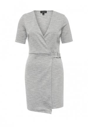 Платье Topshop. Цвет: серый