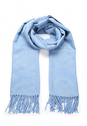 Палантин Sela. Цвет: голубой