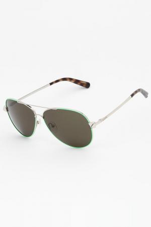 Очки солнцезащитные Valentino. Цвет: салатовый