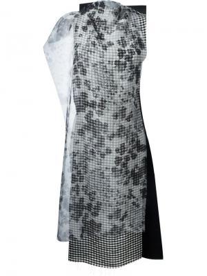 Туника без рукавов Yang Li. Цвет: серый