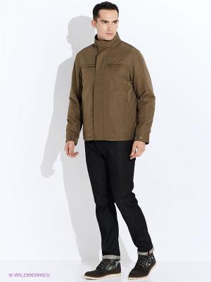 Куртка GEOX. Цвет: темно-бежевый