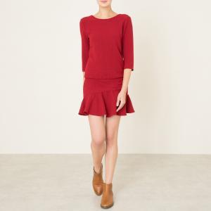 Платье ISLA BA&SH. Цвет: бордовый