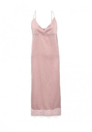 Платье Atelier Revolver. Цвет: розовый