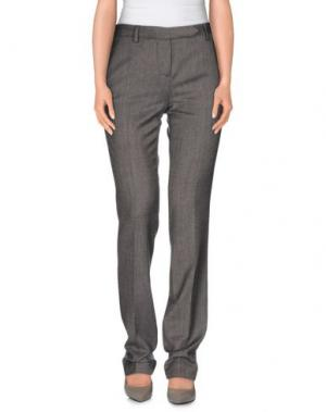 Повседневные брюки IRMA BIGNAMI. Цвет: серый