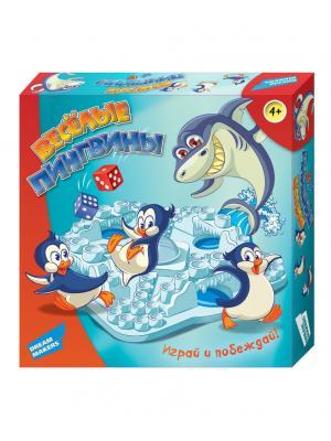 Игра Настольная Пингвины DREAM MAKERS. Цвет: голубой, красный