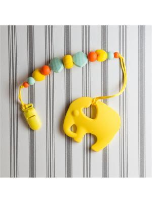 Игрушки-подвески Краски лета. Цвет: светло-зеленый, желтый, оранжевый