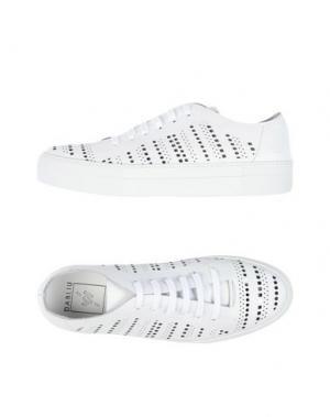 Низкие кеды и кроссовки W DABLIU. Цвет: белый