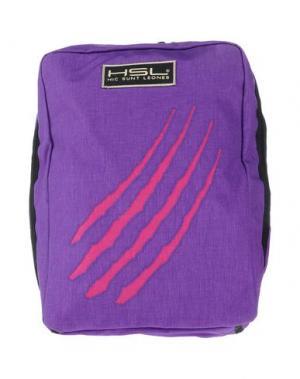 Рюкзаки и сумки на пояс HSL HIC SUNT LEONES. Цвет: фиолетовый