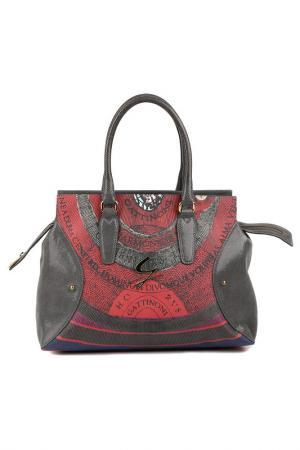 Bag Gattinoni. Цвет: black, brown, red