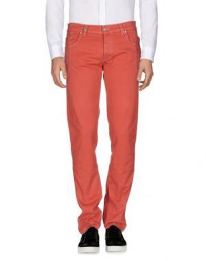 Повседневные брюки NICWAVE. Цвет: коралловый