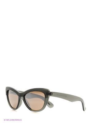 Солнцезащитные очки Mario Rossi. Цвет: темно-серый