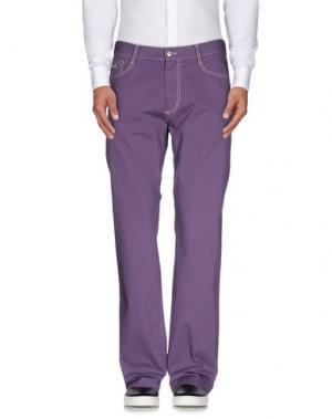 Повседневные брюки HARMONT&BLAINE. Цвет: фиолетовый
