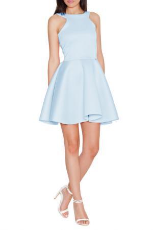 Платье KATRUS. Цвет: синий