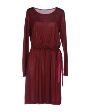 Платье до колена BP STUDIO. Цвет: красно-коричневый