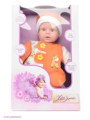 Кукла интерактивная 40см Lisa Jane. Цвет: оранжевый