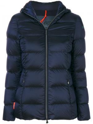 Дутая куртка Rrd. Цвет: синий