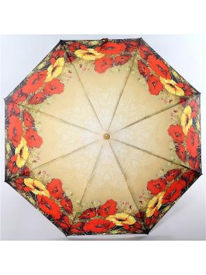 Зонт Magic Rain. Цвет: темно-бежевый, коралловый
