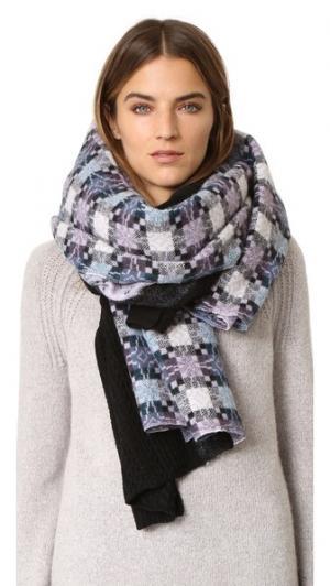 Объемный клетчатый шарф Star Standard Form
