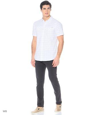 Рубашка Columbia. Цвет: бежевый, серый