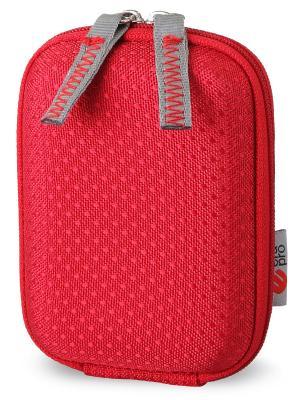 Era Pro EVA Чехол для фотоаппарата EP-010953  9.7х6,5х3,6 см.. Цвет: красный