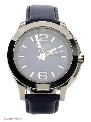 Часы Kenneth Cole. Цвет: синий