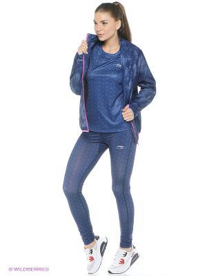 Куртка LI-NING. Цвет: темно-синий