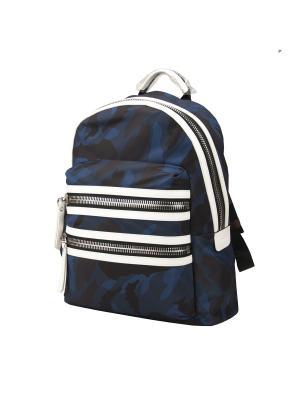Рюкзак Sumdex. Цвет: темно-синий, серебристый