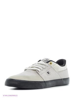 Кеды DC Shoes. Цвет: лиловый