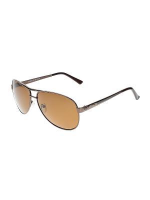 Очки солнцезащитные Infiniti. Цвет: серый, коричневый, черный