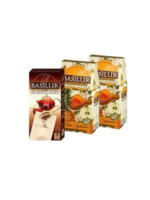Набор Basilur Карибский Коктейль 100гр.*2 + Фильтр-пакет в Подарок. Цвет: черный