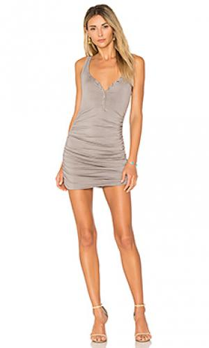 Платье миди superior twenty. Цвет: серый