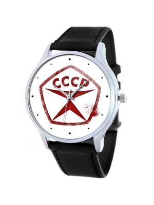 Часы СССР Tina Bolotina. Цвет: черный, белый, красный