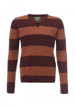 Пуловер Frank NY. Цвет: коричневый