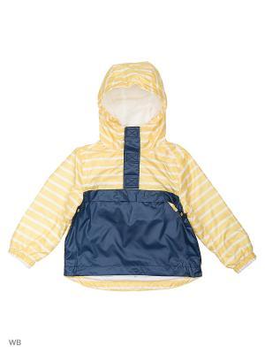 Куртка (Ветровка) Button Blue. Цвет: желтый
