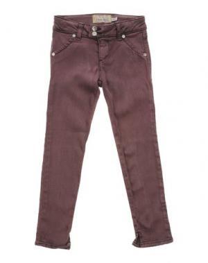 Джинсовые брюки MET. Цвет: розовато-лиловый