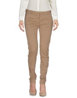 Повседневные брюки ALPHA STUDIO. Цвет: песочный