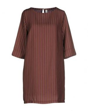 Короткое платье SOUVENIR. Цвет: баклажанный