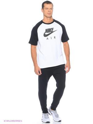 Брюки M NSW PANT CF JSY CLUB Nike. Цвет: антрацитовый, черный