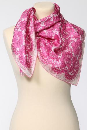 Платок Valentino. Цвет: розовый