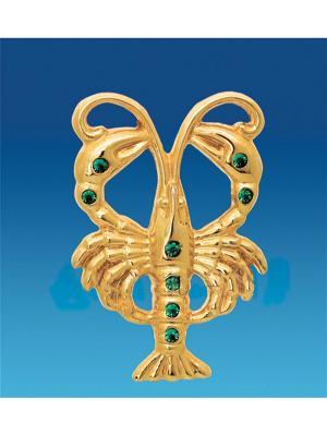 Знак зодиака на магните Рак (Юнион) Юнион. Цвет: золотистый