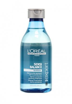 Шампунь для чувствительной кожи головы LOreal Professional L'Oreal. Цвет: голубой