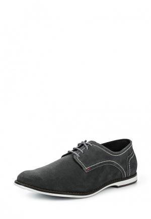 Туфли Bekerandmiller. Цвет: серый