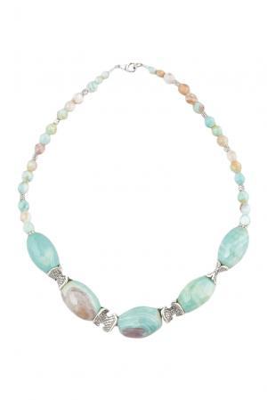 Ожерелье 124660 Shams. Цвет: зеленый
