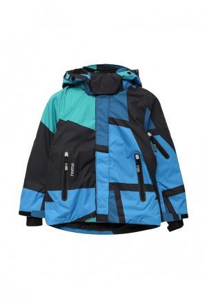 Куртка горнолыжная Reima. Цвет: разноцветный