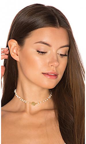 Чокер buried treasures arabella Natalie B Jewelry. Цвет: металлический золотой