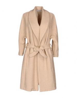 Легкое пальто ANGELA MELE MILANO. Цвет: бежевый
