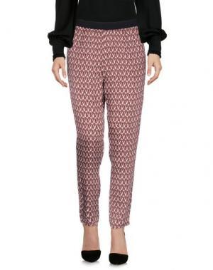Повседневные брюки .TESSA. Цвет: пурпурный
