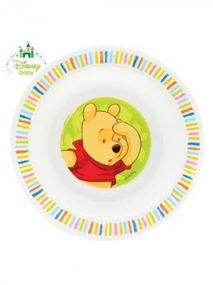 Тарелка Медвежонок Винни 17,5х3 см. от 6 мес. LUBBY. Цвет: желтый