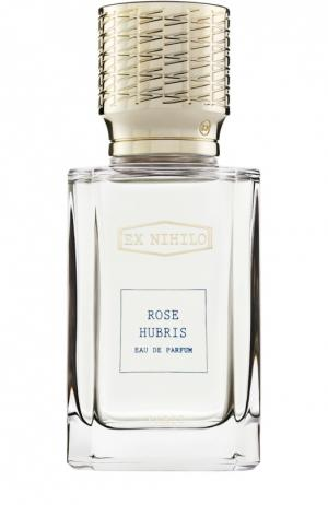 Парфюмерная вода Rose Hubris Ex Nihilo. Цвет: бесцветный