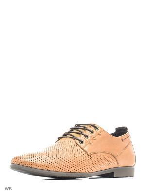 Туфли Companion. Цвет: светло-коричневый